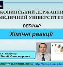професор кафедри медичної та фармацевтичної хімії БДМУ Віталій Чорноус.