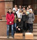 Студенти коледжу БДМУ надіслали гостинці військовим на Схід України