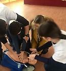 Викладачі БДМУ вчили школярів надавати долікарську допомогу