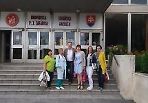 Представники БДМУ взяли участь у стажуванні в Словаччині