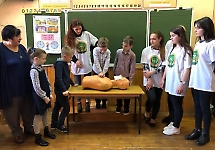 Студенти БДМУ провели тренінг по ПДД для школярів