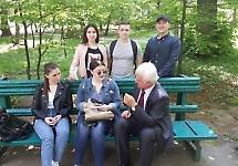 Студенти БДМУ розповідали чернівчанам як діагностувати меланому