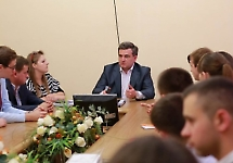 Бойчук Т. М., ректор БДМУ зустріч з активом студентського самоврядування