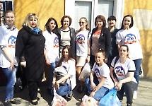 Благодійна акція від студентів медичного факультету №4