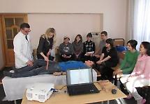 В БДМУ працюють курси надання першої долікарської допомоги