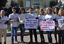 Студенти БДМУ дарували чернівчанам посмішку