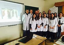 Студенти з викладачем обговорили питання профілактики та ранньої діагностики туб