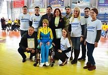 Студенти-медики підтримали людей з обмеженими фізичними можливостями