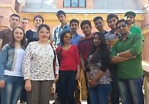 Студенти з кураторами відвідали діток з особливими потребами