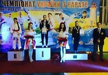 Студентка здобула срібну нагороду на Чемпіонаті України з КУМІТЕ
