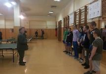 Відбулися змагання Обласних Спортивних Ігор з настільного тенісу