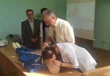 Викладачі БДМУ вчили надавати першу допомогу ліцеїстів
