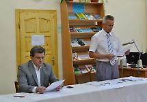 Засідання приймальної комісії БДМУ