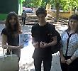 Студенти БДМУ розповідали чернівчанам про шкоду тютюнопаління