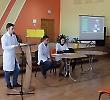 Студенти БДМУ розповіли школярам про здоровий спосіб життя