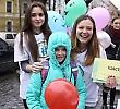 Студенти БДМУ «дарували» чернівчанам щастя