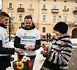 Студенти БДМУ провели благодійну акцію до Дня спонтанного прояву доброти
