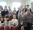 Співробітники БДМУ привітали діток переселенців зі Сходу України з Днем Соборності