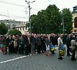 Співробітники БДМУ відзначили День перемоги над нацизмом у Європі