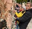 Студенти БДМУ долучилися до рекорду України з плетіння найбільшої маскувальної сітки для Збройних Сил України