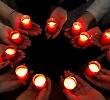 У БДМУ запалили свічу пам'яті загиблим на Майдані