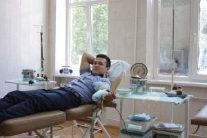 Студенти-медики провели акцію зі збору крові