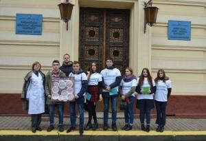 Студенти БДМУ провели просвітницьку акцію до Дня боротьби із псоріазом