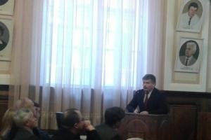 У Буковинському державному медичному університеті відбулося засідання Вченої ради