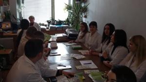 Клінічні ординатори БДМУ обговорили медичні проблеми дітей із синдромом Дауна
