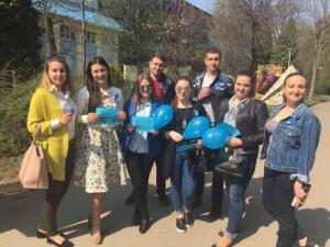 Студенти БДМУ провели акцію «Аутизм – не вирок»