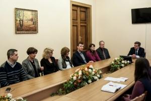 В БДМУ перебуває делегація Університету м.Любек (Німеччина)