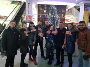 Студенти БДМУ провели просвітницьку акцію до Дня боротьби з ВІЛ/СНІДом.
