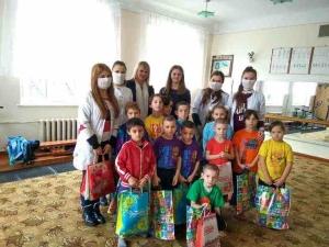 Благодійна акція студентів БДМУ для учнів школи-інтернату №4
