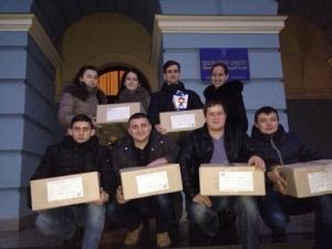 Студенти БДМУ привітали дітей переселенців зі Сходу