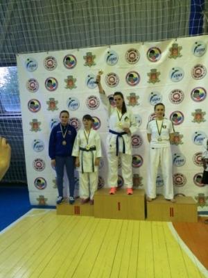 Студентка БДМУ здобула бронзові нагороди на чемпіонаті області з карате WKF