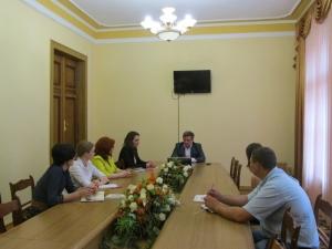 Відбулася зустріч ректора з представниками Ради молодих вчених