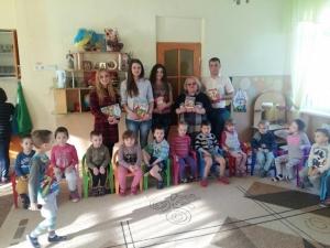 Студенти БДМУ подарували книги вихованцям дитячої установи №25