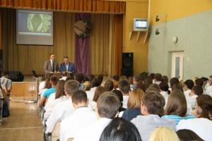 Проведено профорієнтаційну роботу з випускниками Чортківського медичного коледжу