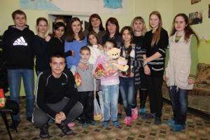 Благодійна акція до «Подаруй дітям радість»