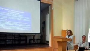 Викладачі кафедри пропедевтики внутрішніх хвороб провели конференцію