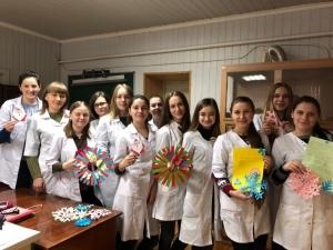 Студенти БДМУ подарували Захисникам частинку новорічно-різдвяного настрою