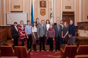 Відбувся конкурсний відбір студентів, які стажуватимуться у Німеччині