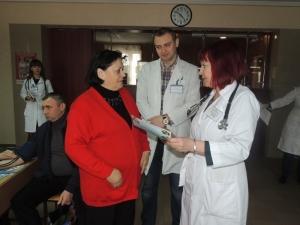Співробітники БДМУ провели акцію «Контроль артеріального тиску»
