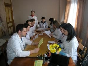 Викладачі та студенти провели санітарно-просвітницьку акцію в Університетській лікарні
