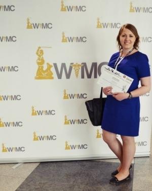 Студентка БДМУ представила свою роботу на міжнародному конгресі в Польщі