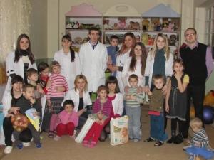 Благодійна акція від студентів БДМУ