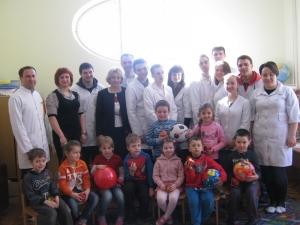 Студенти-стоматологи провели благодійну акцію