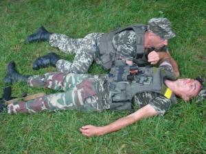 Викладачі БДМУ навчали військових надавати першу допомогу при бойових діях