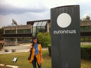 Викладач БДМУ відвідала центральний офіс Euronews