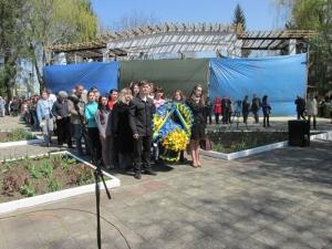 Студенти і викладачі БДМУ взяли участь у заходах до Дня пам'яті Чорнобиля